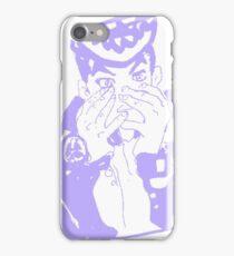 Josuke Higashikata (purple) iPhone Case/Skin