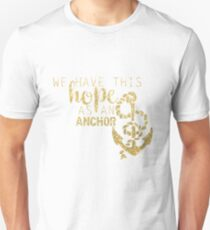 Hebrews 6:19 Unisex T-Shirt