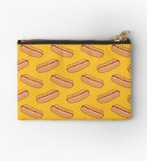 Hotdog Yellow Pattern Studio Pouch