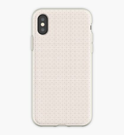 Classic Beige with Polka Dots iPhone Case