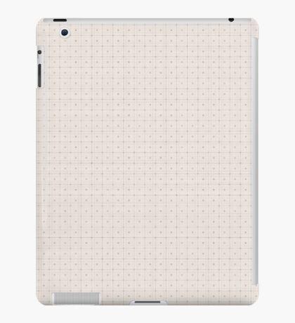 Classic Beige with Polka Dots iPad Case/Skin