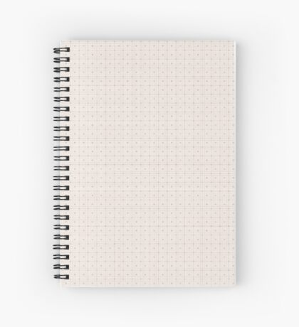Classic Beige with Polka Dots Spiral Notebook