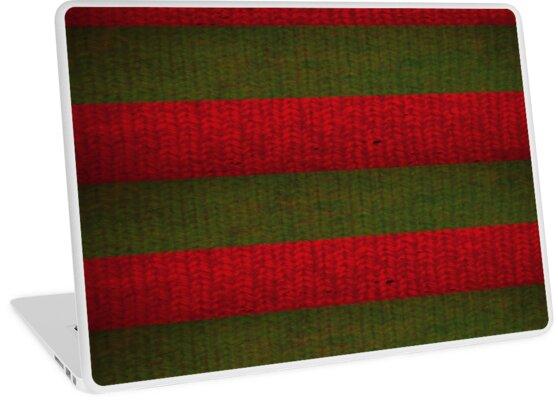 Freddy Krueger Sweater Laptop Skins By Tonyara Redbubble