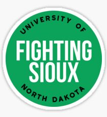 University of North Dakota - Style 20 Sticker