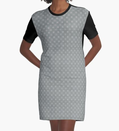 Muted Gray by Julie Everhart Graphic T-Shirt Dress