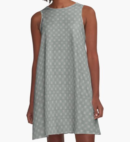 Muted Gray by Julie Everhart A-Line Dress