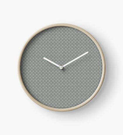 Muted Gray by Julie Everhart Clock