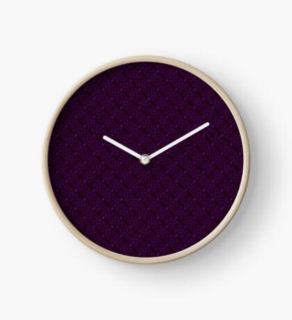 Purple Swirl by Julie Everhart Clock