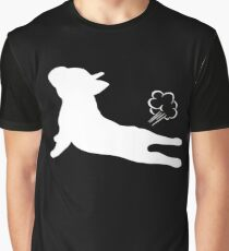 French Bulldog Yoga Exhale Graphic T-Shirt