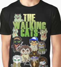 THE WALKING CATS Graphic T-Shirt