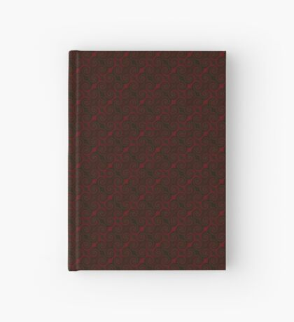 Crimson Red Swirl by Julie Everhart Hardcover Journal