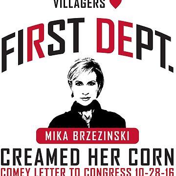 First Dept. Villagers Collection Mika Brzezinski by FirstDept