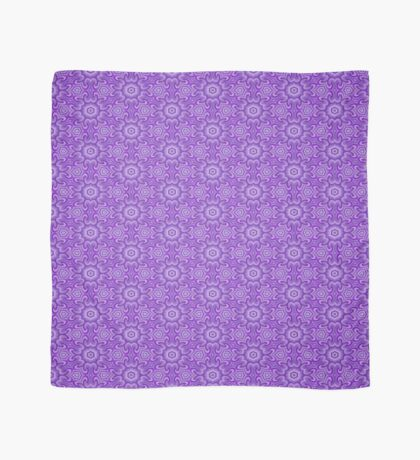 Lilac Splendor Flower Pattern by Julie Everhart Scarf