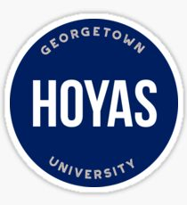 Georgetown University - Style 20 Sticker