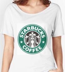 Starbucks coffee logo Women's Relaxed Fit T-Shirt