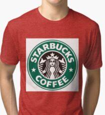 Starbucks coffee logo Tri-blend T-Shirt