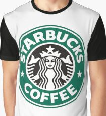 Starbucks coffee logo Graphic T-Shirt