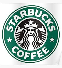 Starbucks coffee logo Poster