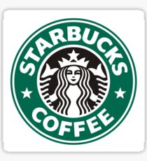 Starbucks coffee logo Sticker