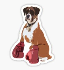 Boxer Dog Sticker