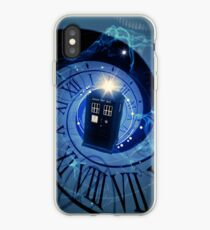 Police Box Time Travel iPhone Case