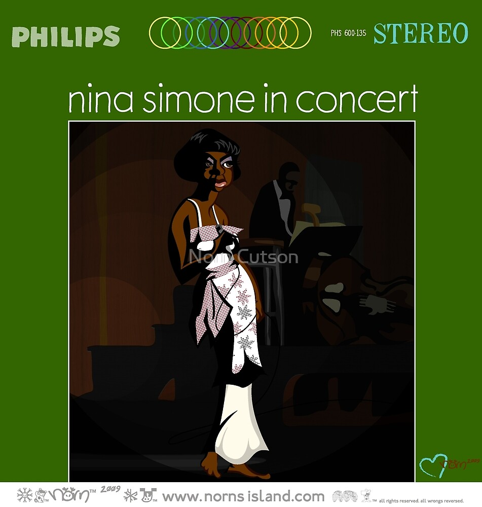 NINA SIMONE IN CONCERT by norncutson