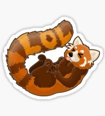 Laughing Red Panda - LOL Sticker