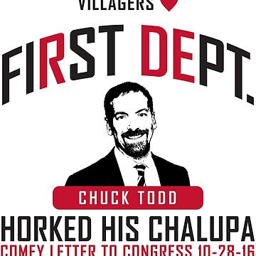 First Dept. Villagers Collection Chuck Todd by FirstDept