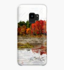 Fall in Northern Ontario Case/Skin for Samsung Galaxy