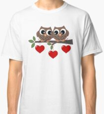 2 Owls My Valentine Day Classic T-Shirt
