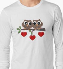 2 Owls My Valentine Day Long Sleeve T-Shirt