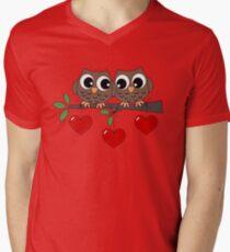 2 Owls My Valentine Day T-Shirt
