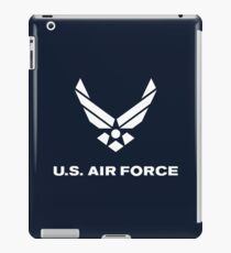 United States Air Force, US Air Force, Complete Logo iPad Case/Skin
