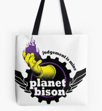 Planet Bison Fitness Tote Bag