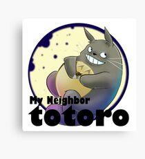 my neighbour totoro Canvas Print