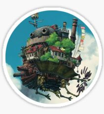 Howls Moving castle  Sticker