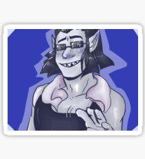 equius zahhak Sticker