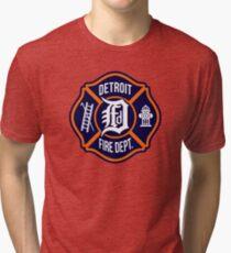 Detroit Fire Dept. Tri-blend T-Shirt
