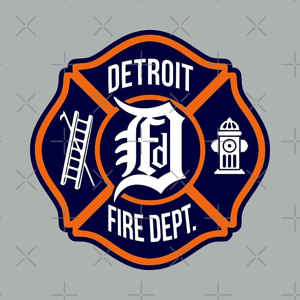 Detroit Fire Dept. by thedline