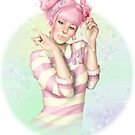 Kawaii Candy Girl by CatAstrophe