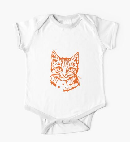 Kitty Cat Face Time! One Piece - Short Sleeve