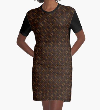 Rich Brown by Julie Everhart Graphic T-Shirt Dress