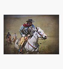 Working Riders Photographic Print