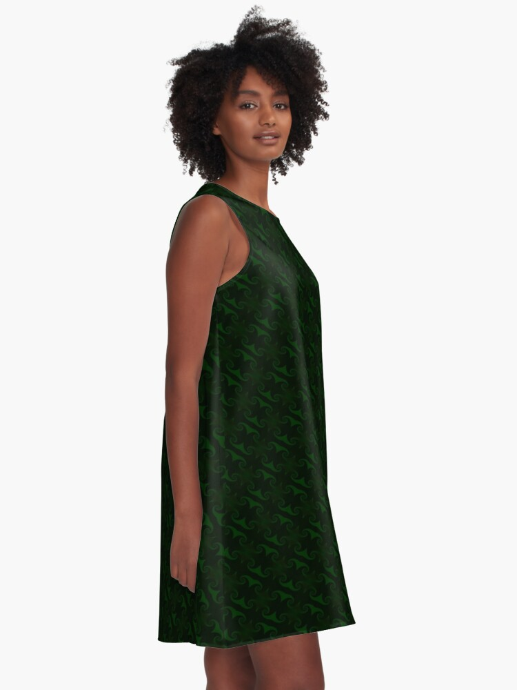 Alternate view of Hunter Green Design by Julie Everhart A-Line Dress