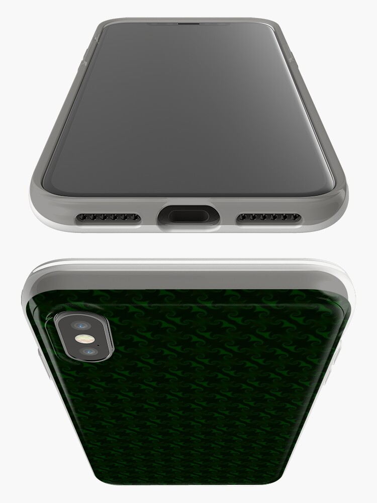 Alternate view of Hunter Green Design by Julie Everhart iPhone Cases & Covers