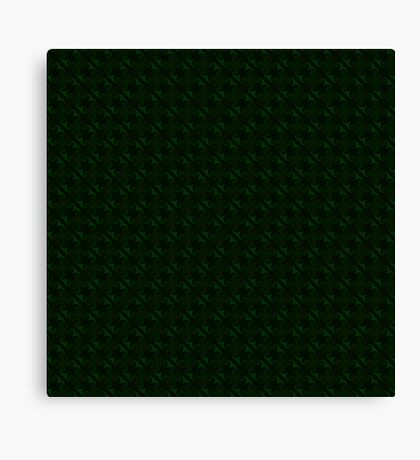 Hunter Green Design by Julie Everhart Canvas Print