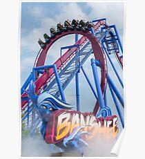 Banshee Roller Coaster  Poster