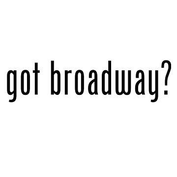 ¿Tienes Broadway? de nonstopbroadway