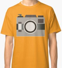 Retro Old-time Camera, Gray Classic T-Shirt