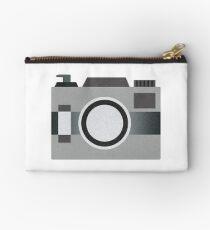 Retro Old-time Camera, Gray Studio Pouch